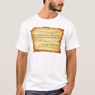 Die Konstitution ist der Führer… T-Shirt