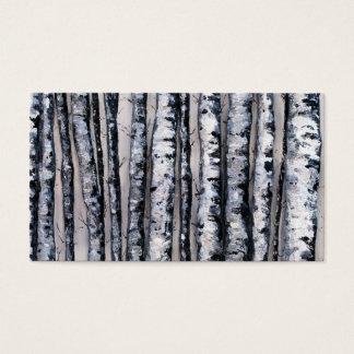 Die Kontraste des Winters durch feinen Künstler Visitenkarte