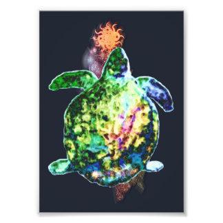 Die kosmische Farbe Bringer Fotodruck
