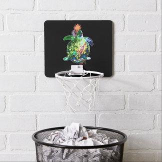 Die kosmische Farbe Bringer Mini Basketball Netz