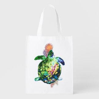 Die kosmische Farbe Bringer Wiederverwendbare Einkaufstasche
