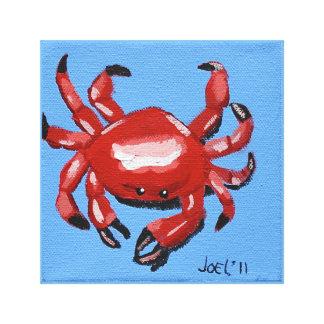 """Die Krabbe (2011) wickelte Leinwand 12,84"""" x12.84"""