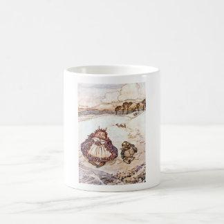 Die Krabbe und seine Mutter-KinderTasse Kaffeetasse