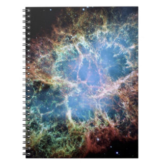 Die Krabben-Nebelfleck-Supernova NASA Spiral Notizblock