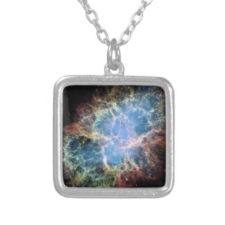 Die Krabben-Nebelfleck-Supernova NASA Versilberte Kette