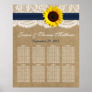 Die Kraftpapier-, Spitze-u. Sonnenblume-Sammlung - Poster