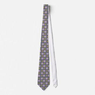Die Krawatte der geometrischen Deko-Männer