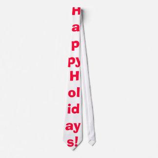 Die Krawatte der glücklichen Feiertags-Männer