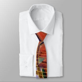 Die Krawatte der Kunst-Deko-Männer