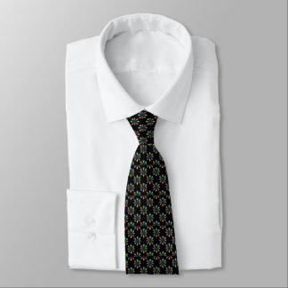Die Krawatte der Weihnachtslicht-Männer