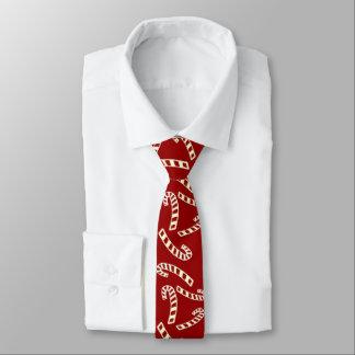 Die Krawatte der Zuckerstange-Männer
