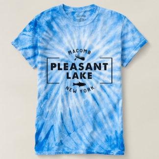 Die Krawatten-T - Shirt der angenehmer See-blauen