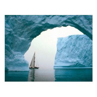 Die kreuzende Antarktis Postkarte