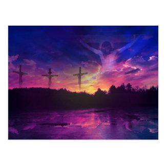 Die Kreuzigung des Jesus Christus auf dem Kreuz Postkarte