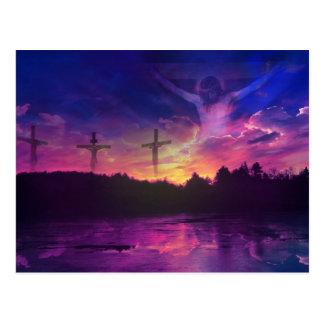 Die Kreuzigung des Jesus Christus Postkarte
