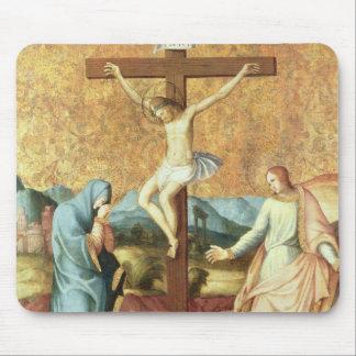 Die Kreuzigung mit der Jungfrau und dem Johannes Mauspads