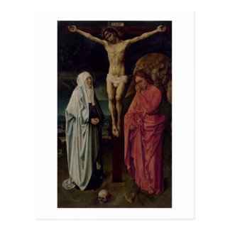 Die Kreuzigung (Platte) 2 Postkarte