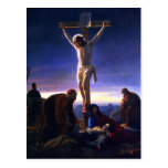Die Kreuzigung von Jesus. Kunst-Postkarten