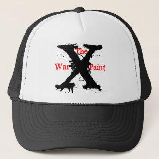 """""""Die Kriegsbemalung-"""" """"x-"""" Logo Truckerkappe"""