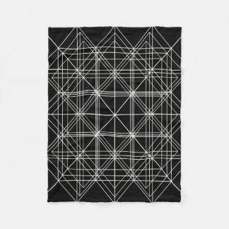 Die Kristalltempel-heilige Geometrie Fleecedecke