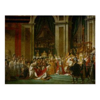 Die Krönung von Napoleon Postkarte