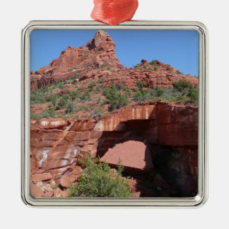 Die Küche des Teufels in Sedona Arizona Silbernes Ornament