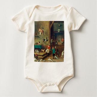 Die Küche durch David Teniers das jüngere Baby Strampler