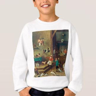 Die Küche durch David Teniers das jüngere Sweatshirt