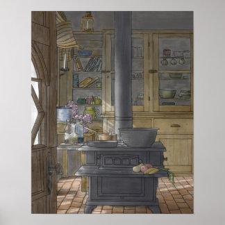 Die Küche Poster