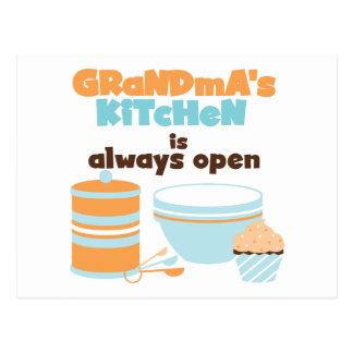 Die Küchen-immer offene T - Shirts und Geschenke Postkarte