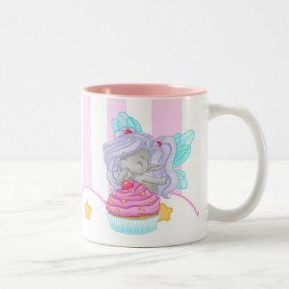 Die Kuchenfee Zweifarbige Tasse