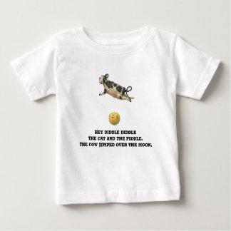 Die Kuh gesprungen über den Mond Baby T-shirt