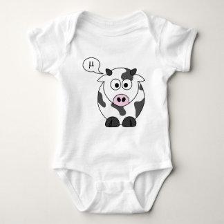 Die Kuh sagt μ Baby Strampler