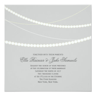 Die kundengerechten eleganten Wedding Quadratische 13,3 Cm Einladungskarte