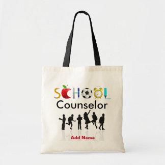 Die kundenspezifische Tasche des Schulratgebers