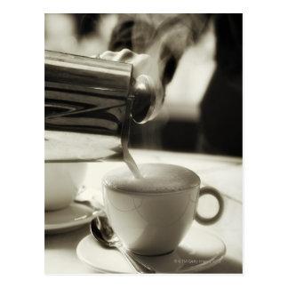 Die Kunst der neuen Kaffeeherstellung/Hinzufügen Postkarten