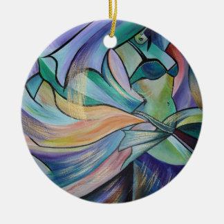 Die Kunst des Bauchtanzes Keramik Ornament