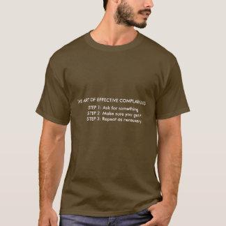 Die Kunst des effektiven beschwerenShirts T-Shirt