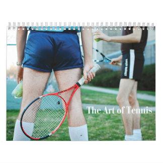 Die Kunst des Tenniskalenders Wandkalender