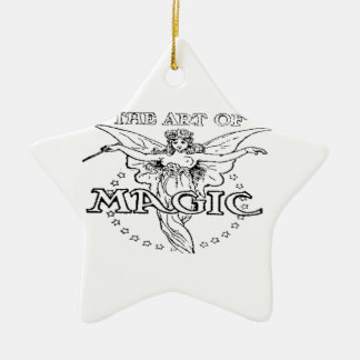 die Kunst von magischem Schwarzweiss Keramik Ornament