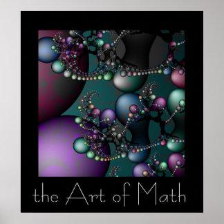 Die Kunst von Mathe Poster