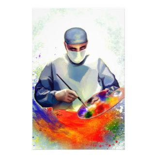 Die Kunst von Medizin Briefpapier