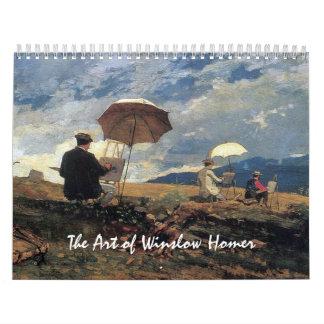 Die Kunst von Winslow Homer Abreißkalender