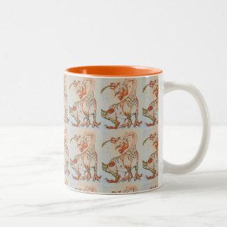 Die Kürbis-Drache ~ Zwei-Ton Tasse