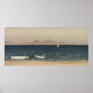 Die Küste von Kleinasien Poster