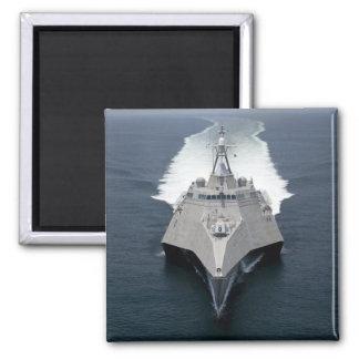 Die Küstenkampfschiff Unabhängigkeit Quadratischer Magnet