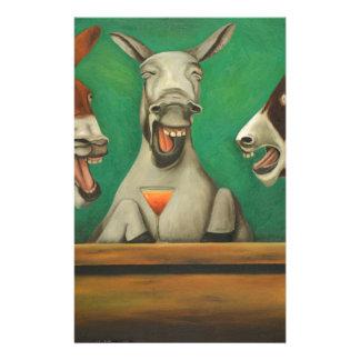 Die lachenden Esel Briefpapier