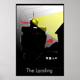 Die Landung Poster