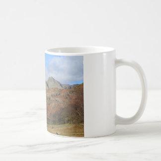 Die Langdale Spiesse, englischer See-Bezirk Kaffeetasse