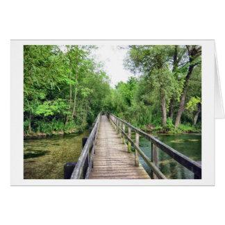 Die lange Brücke Karte